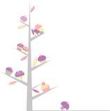 Árvore do queque ilustração do vetor