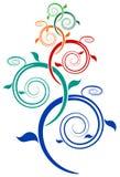 Árvore do redemoinho ilustração royalty free