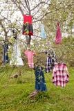 Árvore do vestido imagem de stock