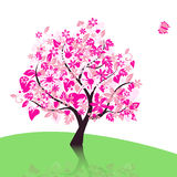 árvore do vetor Fotos de Stock