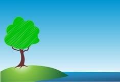 Árvore do vetor ilustração stock