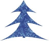 Árvore do X-mas Imagem de Stock Royalty Free