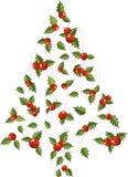 Árvore do Xmas ilustração royalty free