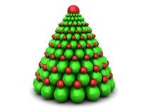 Árvore do Xmas Fotografia de Stock Royalty Free