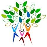 Árvore dos povos Foto de Stock Royalty Free
