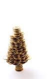 Árvore dourada Fotografia de Stock