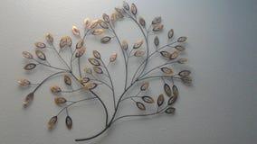 Árvore dourada foto de stock