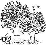 Árvore e ambiente Imagens de Stock