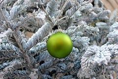 Árvore e decoração de Natal Fotografia de Stock Royalty Free