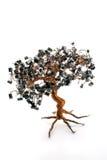 Árvore eletrônica dos bonsais Foto de Stock Royalty Free