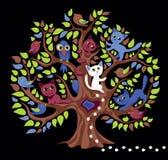 Árvore engraçada Imagem de Stock