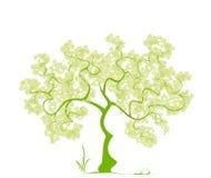 Árvore estilizado. Fotos de Stock Royalty Free