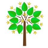 Árvore estilizado Imagem de Stock