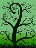 Árvore fantástica 005 ilustração stock