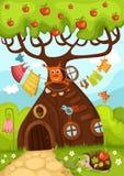 Árvore feericamente Fotos de Stock Royalty Free