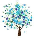 Árvore floral Imagem de Stock