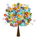 Árvore floral Foto de Stock Royalty Free