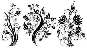 Árvore floral estilizado. Fotografia de Stock