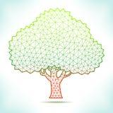 Árvore geométrica Imagens de Stock