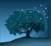 Árvore mágica ilustração royalty free