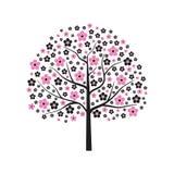 Árvore na flor Fotografia de Stock