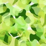 Árvore no teste padrão verde Fotos de Stock