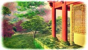 Árvore poderosa imagem de stock