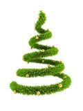 árvore simbólica de ano 3d novo Fotografia de Stock