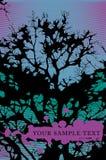 Árvore sobre o céu Fotografia de Stock