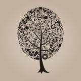 Árvore uma ciência ilustração stock