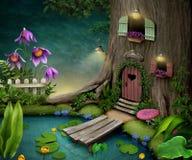 Árvore viva ilustração royalty free