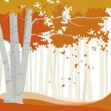Árvores ilustração stock
