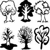 Árvores Imagem de Stock Royalty Free
