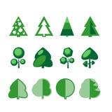 Árvores Imagem de Stock
