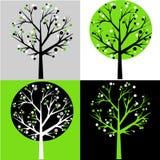 Árvores abstratas Foto de Stock