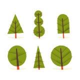 Árvores da queda ilustração stock