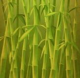 Árvores de bambu ilustração do vetor
