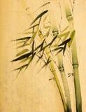 Árvores de bambu verdes ilustração royalty free