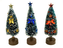 Árvores de Natal Fotos de Stock