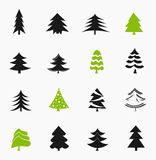 Árvores de Natal Fotos de Stock Royalty Free