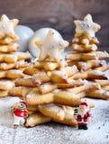 Árvores de Natal do pão-de-espécie Foto de Stock