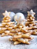 Árvores de Natal do pão-de-espécie Fotos de Stock