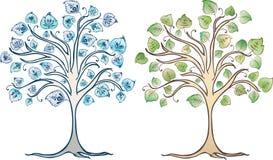 Árvores decorativas Fotografia de Stock
