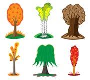 Árvores do outono. ilustração royalty free