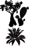 Árvores e plantas Fotografia de Stock Royalty Free