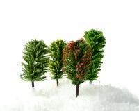 Árvores modelo Foto de Stock