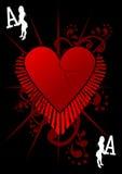 Ás do amor ilustração royalty free
