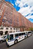 2ás rua e torres ocidentais NYC do terraço de Londres imagem de stock