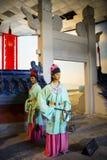 Ásia China, ¼ ŒHistorical de Palaceï do modelo de cera de Minghuang do Pequim e paisagem cultural de Ming Dynasty em China Fotografia de Stock