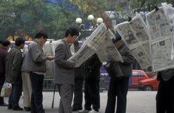 ÁSIA CHINA CHONGQING Imagem de Stock